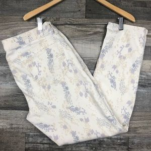 American Eagle Printed Stretch Jegging Jeans sz 14